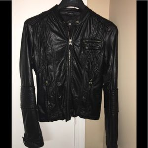 Faux Leather (lightweight) Jacket